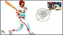 Scott 2619 29 Cents Baseball Cw Ray Hand Painted Fdc 1 Of 3