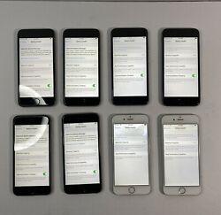 Lot Of 8 Apple Iphone 6/6s 16gb/32gb Mixed - Please Read Issues
