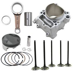 Cylinder Piston Ring And Valve And Connecting Rod For Yamaha Wr250f Yz250f 2003-2013