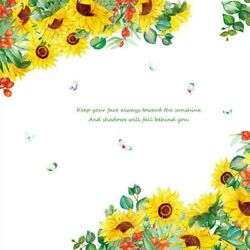 Sunflower DIY PVC Removable Wall Stickers Decals Room Home Mural Pattern Decor