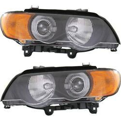 Bm2519108, Bm2518108 Hid Headlight Lamp Left-and-right Hid/xenon Lh And Rh For X5