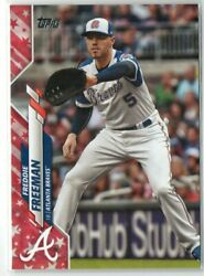Freddie Freeman 2020 Topps Independence Parallel And039d/76 Card 549