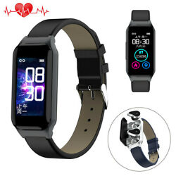 New 2 In 1 Smart Watch Fitness Tracker Wristband Bluetooth Headset Phone Mate