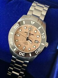 Aragon Divemaster 42mm Meteorite Copper/brushed/sapphire-sold Out
