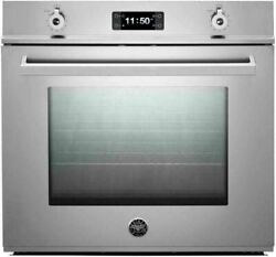 Bertazzoni 30 Stainless Steel Dual Fan Convection Electric Wall Oven F30proxe