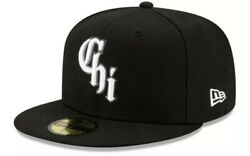 New Era Chicago White Sox City Connect 59fifty 5950 Hat 7 3/8 Hat Club Pin