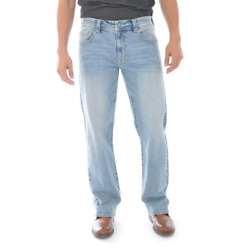 T K Axel Men's Slim Bootcut Stretch Jeans Light Wash - Nwt