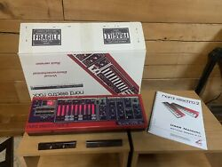Nord Electro Rack 2 W/ Original Box Manual Power Supply And Packaging