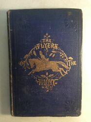 1859 Flyers Of The Huntfox Huntingw Magnificent Hand-colored Illustrations
