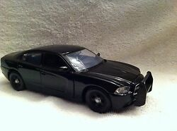1/24 Scale Dodge Charger Undercover Pd Unit Model With Working Lights/siren