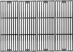 Omgg4 Pcs Cast Iron Cooking Grates Replacement For Chargriller Duo 5050 2121