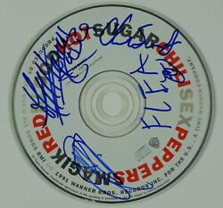 Red Hot Chili Peppers Jsa Signed Autograph Cd Anthony, Flea, John Frusciante +