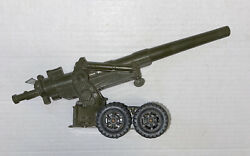 Parts Repair Vtg Toy Marx Us Army Military Shell Shooting Long Tom Field Cannon