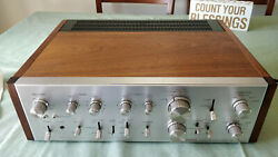 Pioneer Sa- 9100 Vintage Stereo Amp For Parts Or Repairno Return Sold As Is