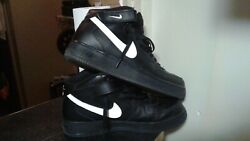Nike Air Force 1 Mid Top Black Sail 07and039 Size Us 10