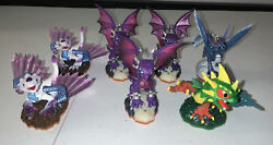 Sky Landers Mixed Dragon Lot - See Pictures