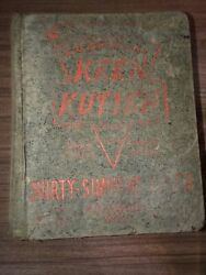 Keen Kutter Simmons Hardware 1908 Catalog W/ Tools, Sporting Goods Fishing Lures