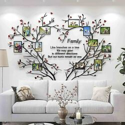 WALL TREE FAMILY PHOTO FRAME HOME STICKER DECALS DECOR DECAL STICKERS DIY ROOM 2
