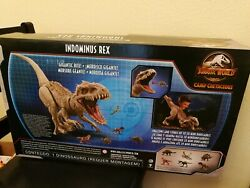 Jurassic World Camp Cretaceous Super Colossal Indominus Rex Huge 3.5ft X 18in