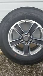 Brand New Rims And Tires Set, Size 255 70 R 18 Firestone. Bought Custom Wheels