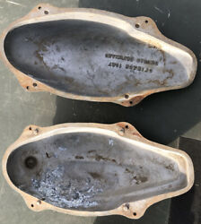 Goose Decoy Body Mold With 2 Different Head Position Molds