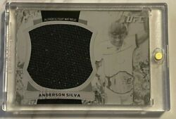 2012 Topps Ufc Bloodlines Anderson Silva Jumbo Fight Mat Used Relic 1/1 Spider
