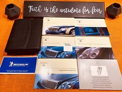 2011 2012 Maybach 57 62 57s 62s Owners Manual Package W/ Navigation Manual