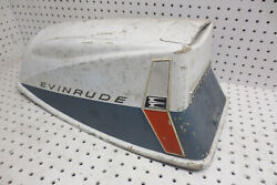 1961-1963 Evinrude 10hp Sportwin Outboard Motor Cover Cowling Cowl Decor Vintage
