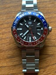 Tag Heuer Aquaracer 300m Automatic Gmt Pepsi Menand039s Watch Way201f.ba0927