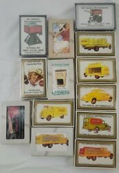 Lot Of 13 Coca Cola Septemberfest 1980s - 2000s Playing Cards Sealed Vintage Nib