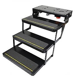 Lippert 365837 Rv 25 Series 8 Rise Step Assembly With Logic Control Unit