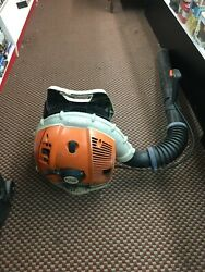 Stihl Br600 Backpack Leaf Blower 65cc Tested Working W/ Free Shipping Br 600
