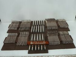 Christofle France Port Royal Cutlery Set Of 120 Parts - Very Beautiful Condition