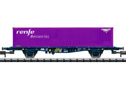 Trix 15649 N Renfe Lgnss Container Transport Car