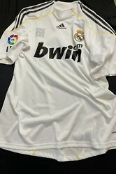 Real Madrid Player Issue 2009 Ronaldo Shirt Formotion Jersey