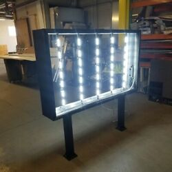 Double Sided Storage Led Light Box Signs 36''x60''x10''