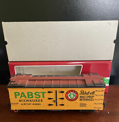 Lgb Trains G Scale 4074 Pabst Milwaukee Malt Syrup Beverages Freight Car