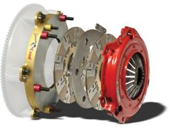 Mcleod 6975-07 Rst Twin Disc Clutch Kit With Sprung Hub And Steel Base Plate