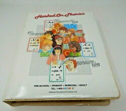 Vintage 1991 Hooked On Phonics Learn To Read Set Complete N.o.s