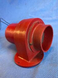 Vintage Red 12v Blower 632 - Believe To Be A Boat Blower Buyer Must Verify Cc3