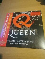 Queen - Greatest Hits In Japan - Vinyl Lp - Only 2000 - Sold Out - Preorder