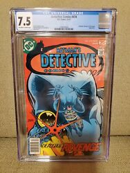 Cgc 7.5 Detective Comics 474 First Modern Appearance Of Deadshot Dc 12/77