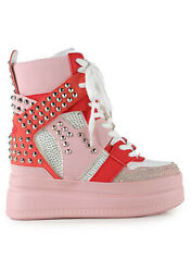 New Anthony Wang Unforgettable Platform Sneaker - Sale - Quince 03 Pink Bling