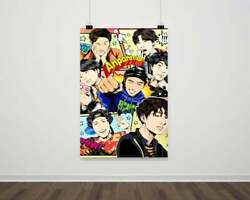 Bts - Back To School Paper Posters Or Canvas Print Framed Wall Art