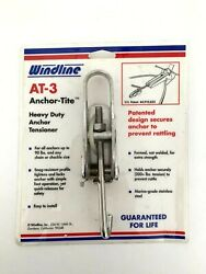 New Sealed Windline Stainless Anchor-tite At-3 Anchor Tensioner Marine Boat