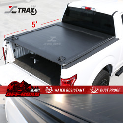 For 2016-2020 Tacoma 5and039 Truck Bed Aluminum Retractable Tonneau Cover Pro