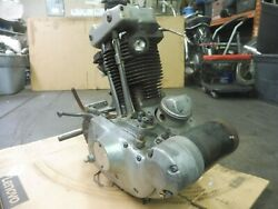 1973 Harley Xlch 1000 Sportster Sm161-2b. Engine Motor Bottom End For Parts