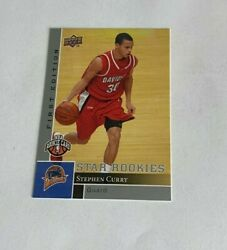 2009-10 Upper Deck Stephen Steph Curry First Edition Star Rookie Rc 196 Warriors