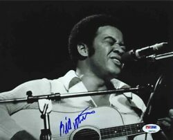 Bill Withers Autographed Signed 8x10 Photo Certified Authentic Psa/dna Coa Aftal