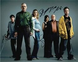 Breaking Bad Cast By 6 Autographed Signed 11x14 Photo Certified Psa/dna Loa